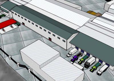 Proyecto de ejecución para la ampliación de central hortofrutícola en polígono San Jorge de Palos de la Frontera
