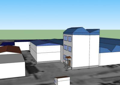 Proyecto de ejecución de obras para la ampliación de central hortofrutícola en Lucena del Puerto para Costa de Huelva, SCA.