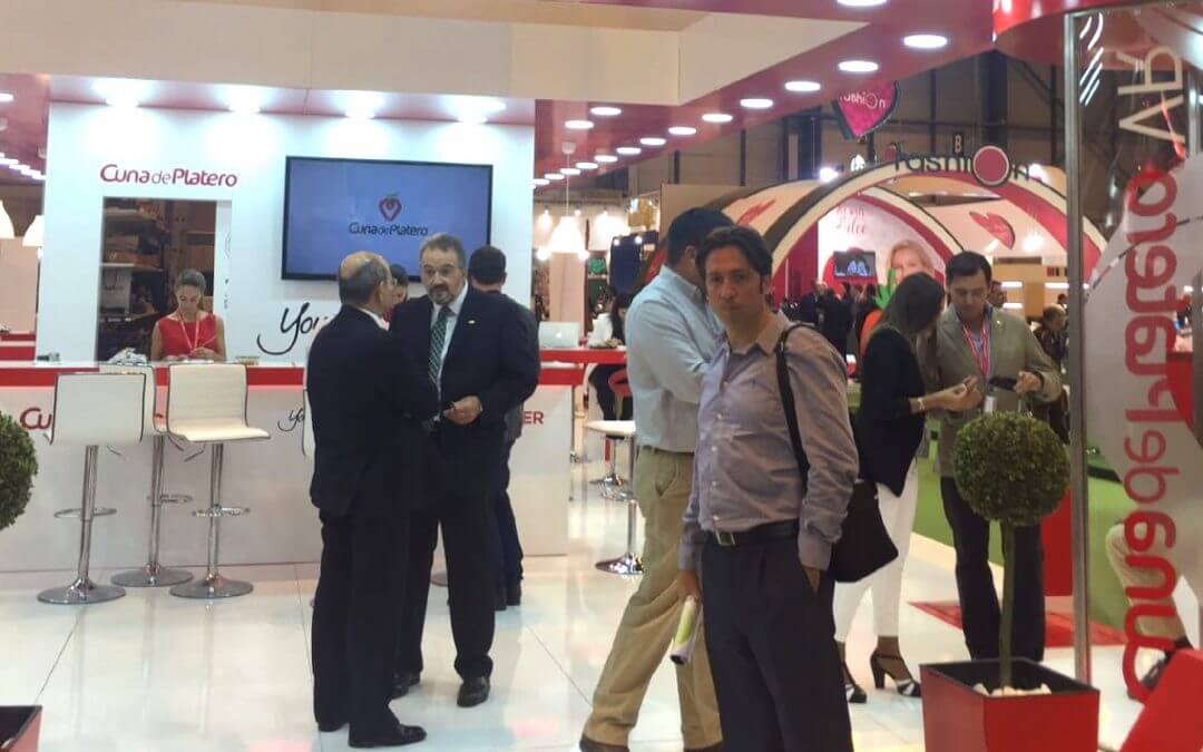 Visita a Fruit Attraction 2016 acompañados de Realza Ingenieros