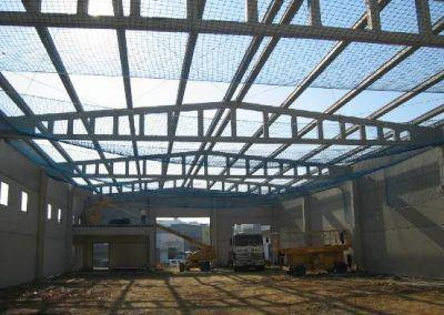 Proyecto de obras e instalaciones para central cortofrutícola en Lucena del Puerto