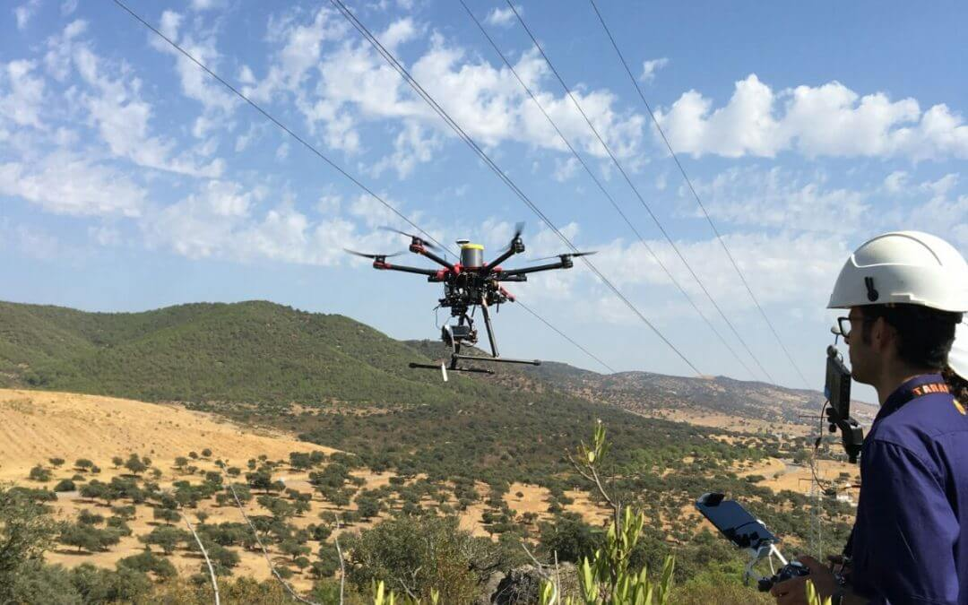 Gabitel Staff specialice in working with drones