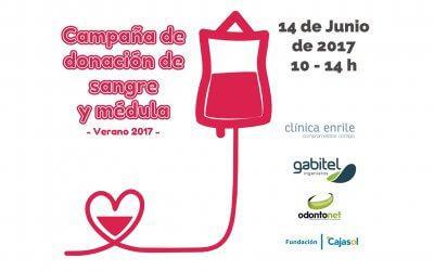 Campaña de Donación de Sangre y Médula – Verano 2017
