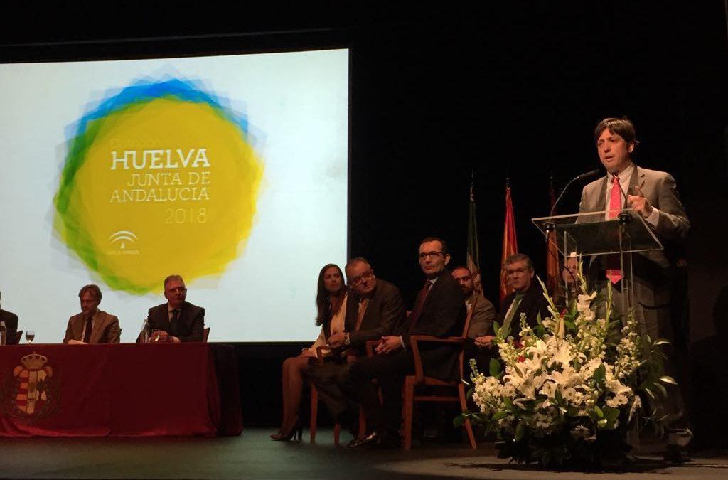 Gabitel Ingenieros recibe el reconocimiento de la Junta de Andalucía Huelva 2018 por su Acción Empresarial e Innovadora