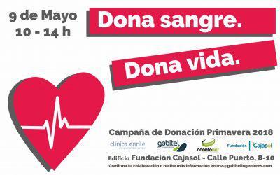 Campaña de Donación de Sangre – Primavera 2018