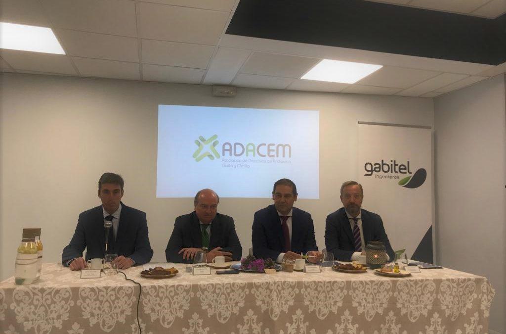 ADACEM se presenta en Huelva con un desayuno-coloquio celebrado en Gabitel Ingenieros
