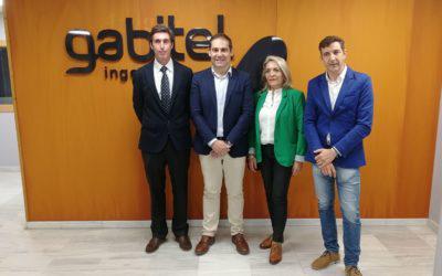 Candidatos a las próximas elecciones visitan Gabitel Ingenieros