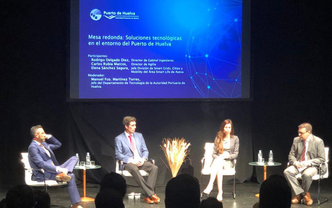 Gabitel acude a la I Jornada de Innovación Tecnológica del Puerto de Huelva