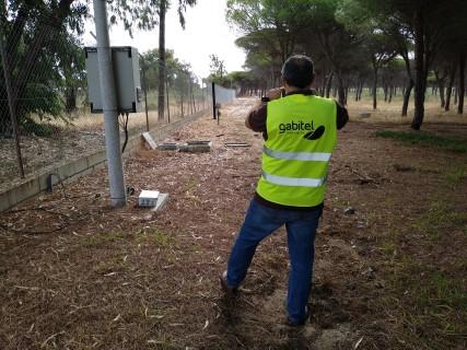 Proyecto de seguridad perimetral en Centro de Experimentación del El Arenosillo