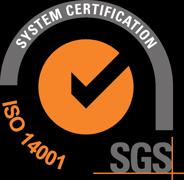 Certificado ISO 14001:215 relativo al compromiso por la protección del medio ambiente