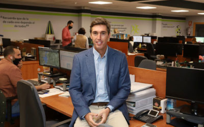 The newspaper Huelva information visits Gabitel Ingenieros