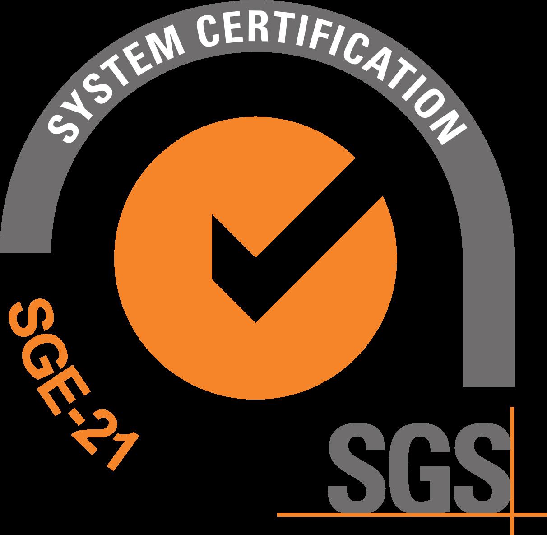 Certificado ISO SGE 21 referente a la gestión ética y socialmente responsable