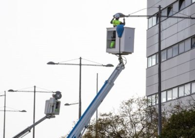 Phase 1 of the Huelva Lighting Replacement Project completed