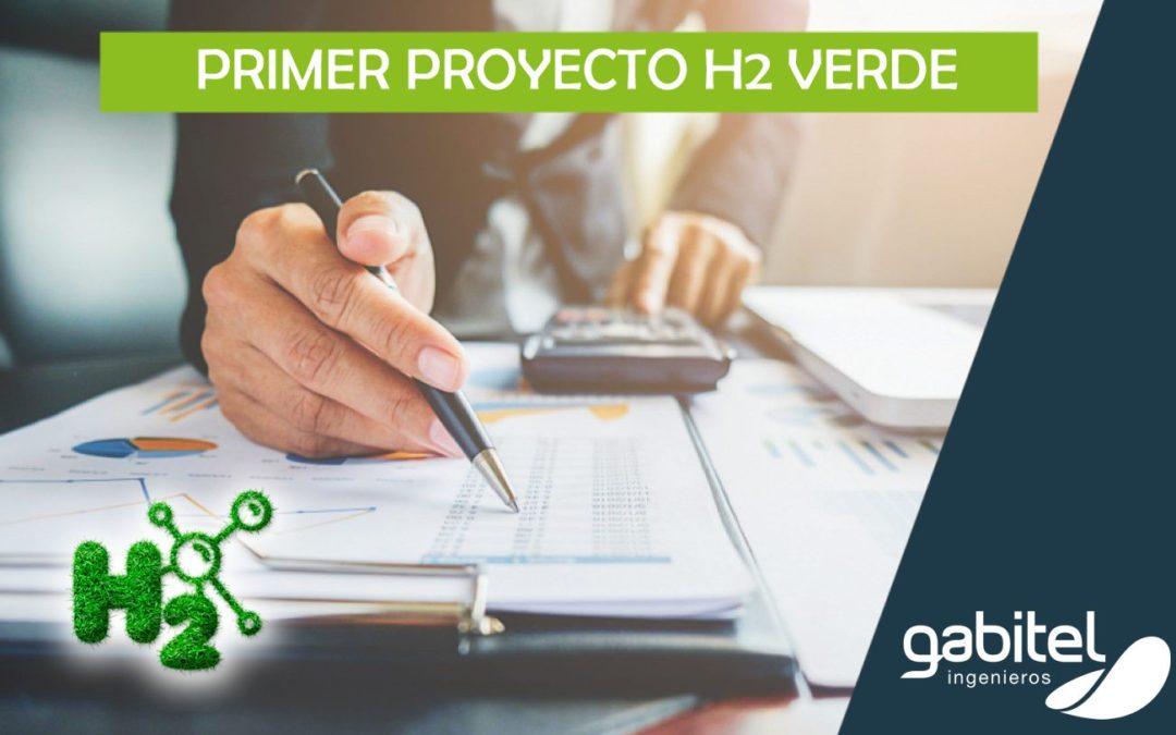 Hidrógeno verde: Gabitel lleva a cabo su primer proyecto