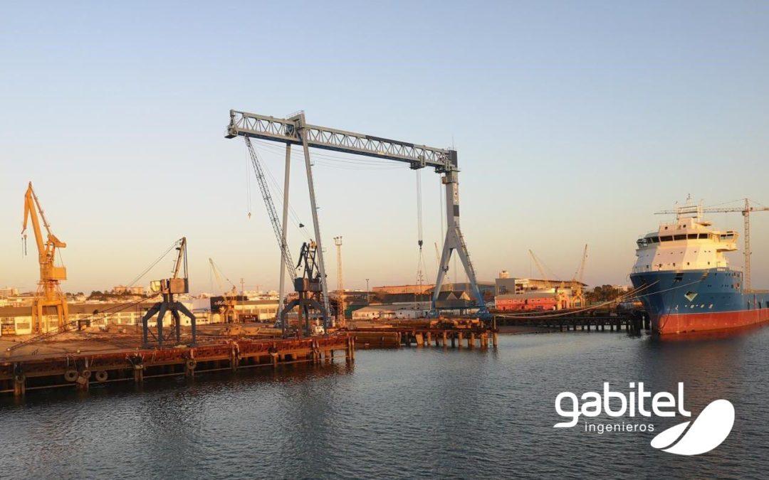 Plan de electrificación de buques en el astillero de Huelva